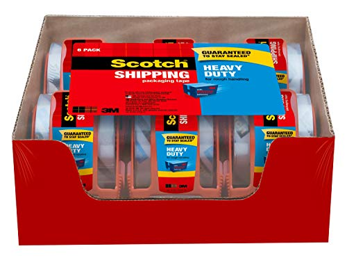 3m Scotch 1 88 In X 65 6 Yds Shipping Packaging Tape Manual Guide